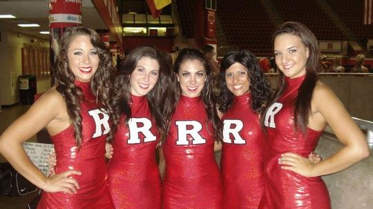 Rutgers Scarlet Knights Cheerleaders